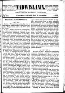 Nadwiślanin, 1853.11.04 R. 4 nr 85