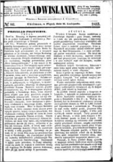 Nadwiślanin, 1853.11.11 R. 4 nr 86