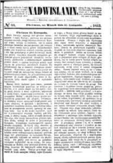 Nadwiślanin, 1853.11.15 R. 4 nr 88