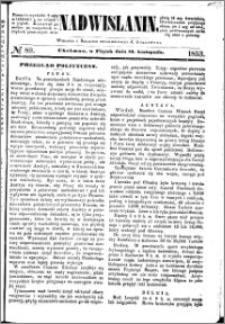 Nadwiślanin, 1853.11.18 R. 4 nr 89