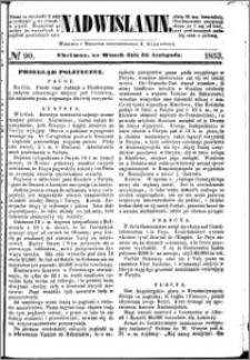 Nadwiślanin, 1853.11.22 R. 4 nr 90
