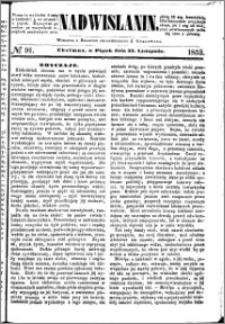 Nadwiślanin, 1853.11.25 R. 4 nr 91