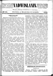 Nadwiślanin, 1853.11.29 R. 4 nr 92