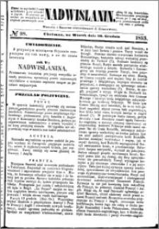 Nadwiślanin, 1853.12.20 R. 4 nr 98