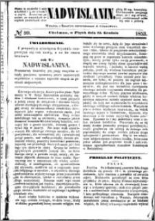 Nadwiślanin, 1853.12.23 R. 4 nr 99