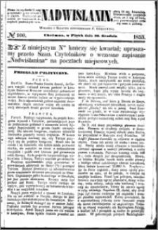 Nadwiślanin, 1853.12.30 R. 4 nr 100