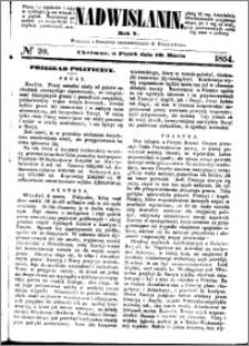 Nadwiślanin, 1854.03.10 R. 5 nr 20