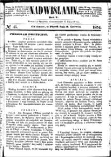 Nadwiślanin, 1854.06.09 R. 5 nr 45