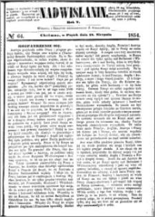 Nadwiślanin, 1854.08.18 R. 5 nr 64