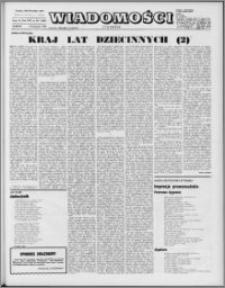 Wiadomości, R. 25 nr 46 (1285), 1970
