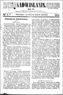 Nadwiślanin, 1855.01.09 R. 6 nr 2