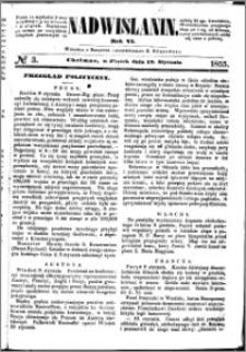 Nadwiślanin, 1855.01.12 R. 6 nr 3
