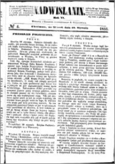 Nadwiślanin, 1855.01.16 R. 6 nr 4