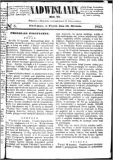 Nadwiślanin, 1855.01.19 R. 6 nr 5