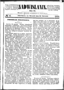 Nadwiślanin, 1855.01.23 R. 6 nr 6