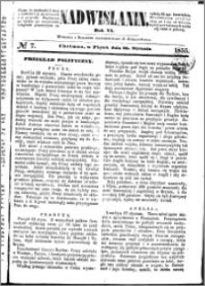 Nadwiślanin, 1855.01.26 R. 6 nr 7