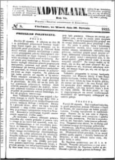 Nadwiślanin, 1855.01.30 R. 6 nr 8