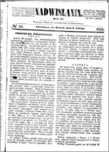 Nadwiślanin, 1855.02.06 R. 6 nr 10