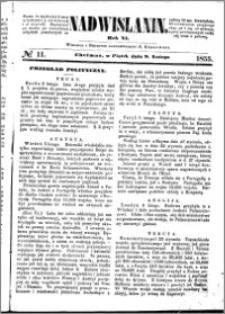 Nadwiślanin, 1855.02.09 R. 6 nr 11
