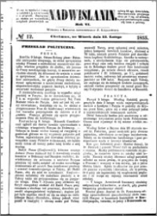 Nadwiślanin, 1855.02.13 R. 6 nr 12