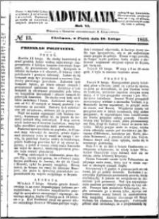 Nadwiślanin, 1855.02.16 R. 6 nr 13
