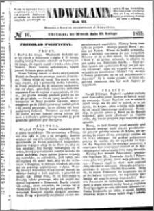 Nadwiślanin, 1855.02.27 R. 6 nr 16