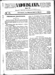 Nadwiślanin, 1855.03.06 R. 6 nr 18