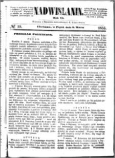Nadwiślanin, 1855.03.09 R. 6 nr 19