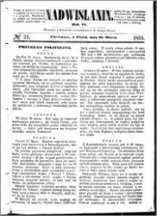 Nadwiślanin, 1855.03.16 R. 6 nr 21