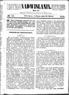 Nadwiślanin, 1855.03.23 R. 6 nr 23