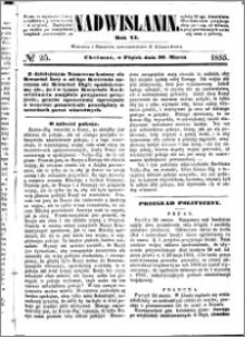 Nadwiślanin, 1855.03.30 R. 6 nr 25