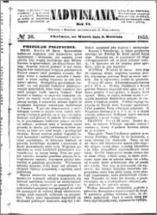 Nadwiślanin, 1855.04.03 R. 6 nr 26