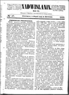 Nadwiślanin, 1855.04.06 R. 6 nr 27