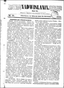 Nadwiślanin, 1855.04.24 R. 6 nr 31