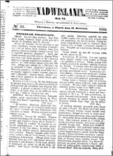 Nadwiślanin, 1855.04.27 R. 6 nr 32