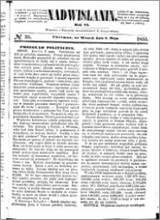 Nadwiślanin, 1855.05.08 R. 6 nr 35
