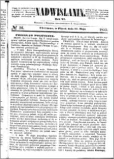 Nadwiślanin, 1855.05.11 R. 6 nr 36