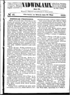 Nadwiślanin, 1855.05.29 R. 6 nr 41
