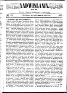 Nadwiślanin, 1855.06.01 R. 6 nr 42