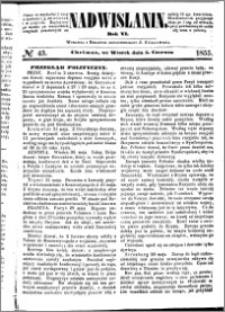 Nadwiślanin, 1855.06.05 R. 6 nr 43