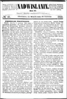 Nadwiślanin, 1855.06.12 R. 6 nr 45