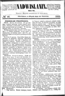 Nadwiślanin, 1855.06.15 R. 6 nr 46