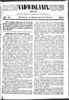 Nadwiślanin, 1855.06.19 R. 6 nr 47