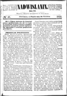 Nadwiślanin, 1855.06.22 R. 6 nr 48