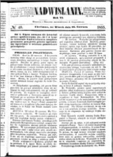 Nadwiślanin, 1855.06.26 R. 6 nr 49