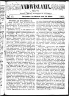 Nadwiślanin, 1855.07.10 R. 6 nr 53