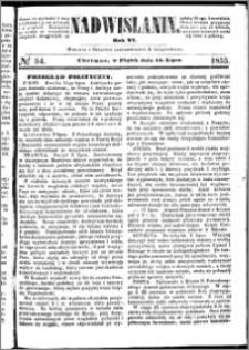 Nadwiślanin, 1855.07.13 R. 6 nr 54