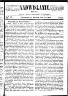 Nadwiślanin, 1855.07.17 R. 6 nr 55