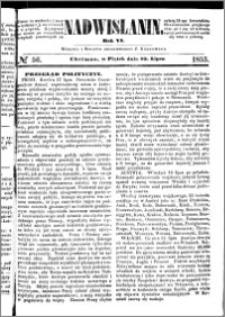 Nadwiślanin, 1855.07.20 R. 6 nr 56