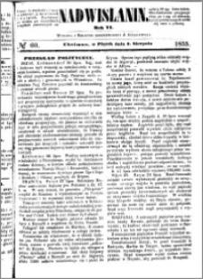 Nadwiślanin, 1855.08.03 R. 6 nr 60